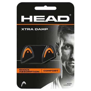 Antivibratorius HEAD XTRA DAMP black/orange