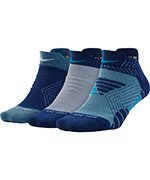 Sportinės kojinės NIKE WOMENS  DRY CUSHIONED LOW TRAINING SOCKS (3 poros) / SX6877-928