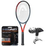 Teniso raketė HEAD GRAPHENE 360 RADICAL MP 2019 + HEAD Reflex MLT stygos + tempimas/233919