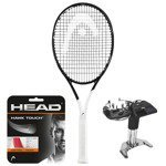 Teniso raketė HEAD GRAPHENE 360 SPEED PRO Djokovic + HEAD HAWK stygos + tempimas / 235208