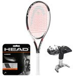 Teniso raketė HEAD GRAPHENE TOUCH SPEED LITE + HEAD HAWK stygos + tempimas / 231837