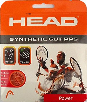 Teniso stygos HEAD SYNTHETIC GUT ORANGE 12